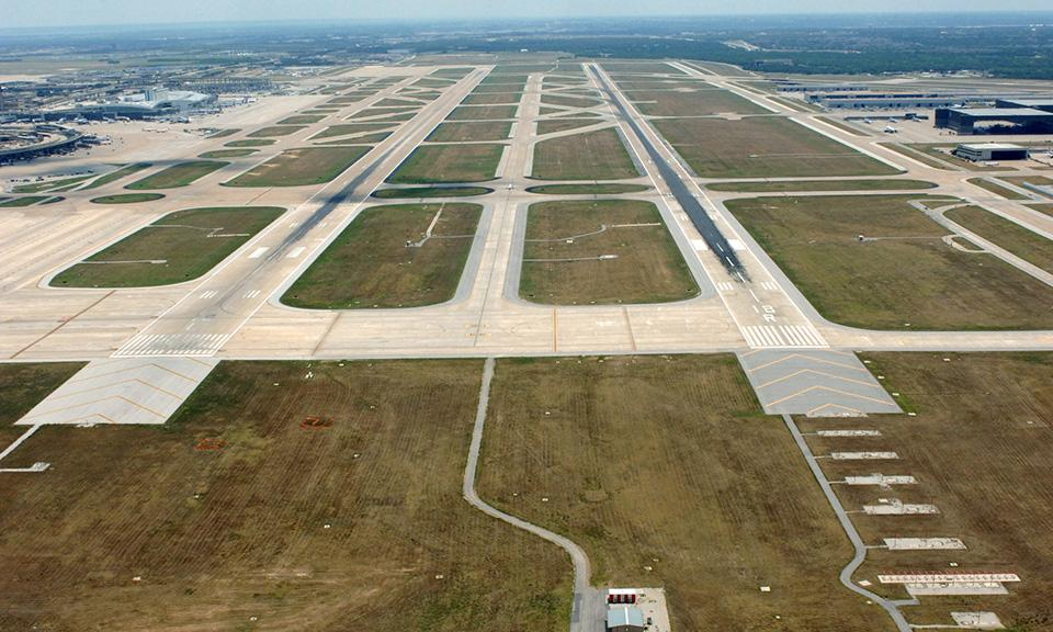 Dfw International Airport Runway 18l 18r Extensions Www