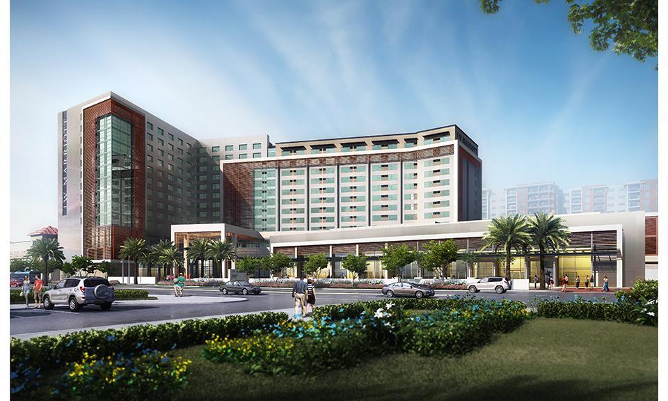 Garden Walk Mall Anaheim: JW Marriott Hotel At GardenWalk